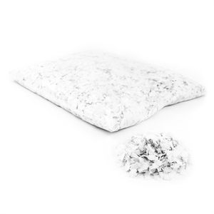 Snow Flakes 6x6mm White